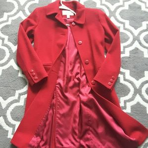 Talbots Wool & Cashmere Blend Pea Coat